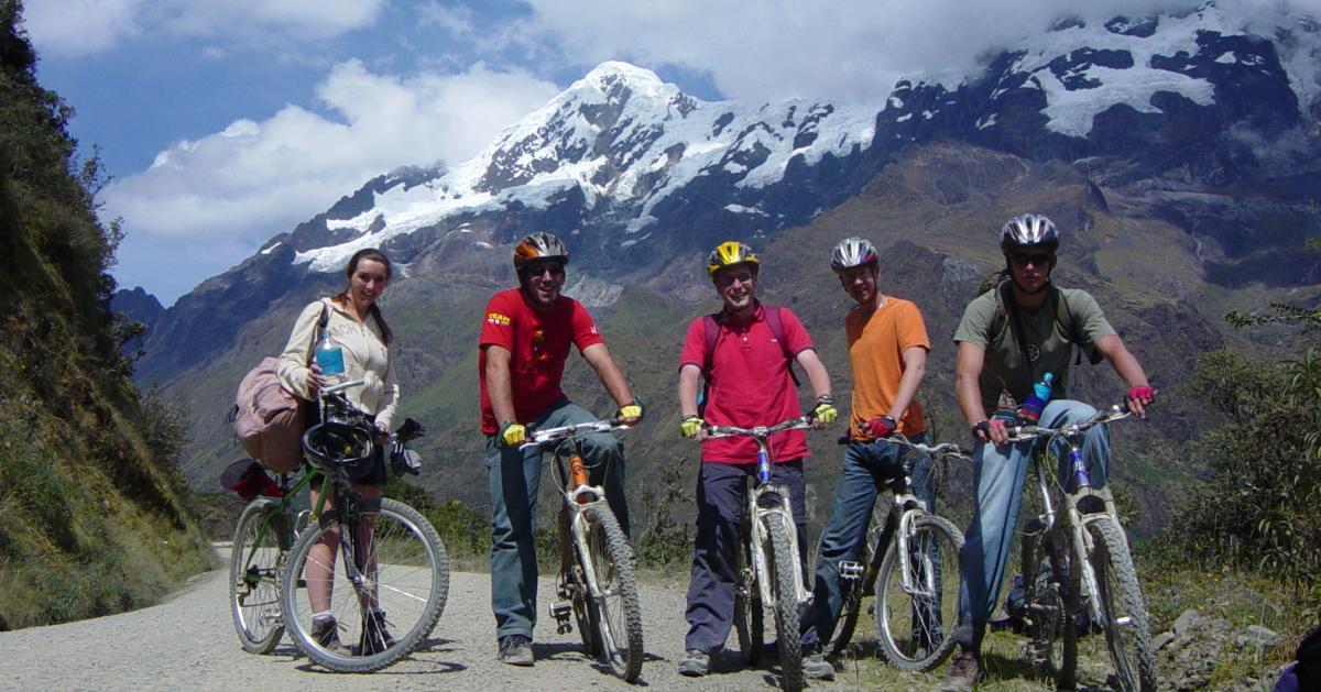 Biking Dowhill