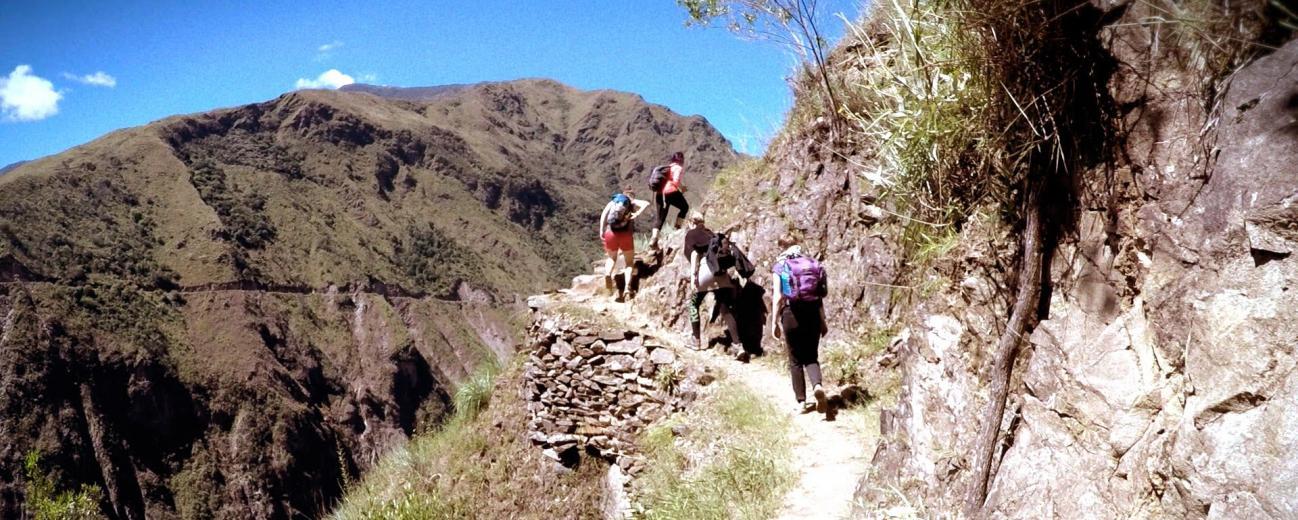 Trekking to Choquekirao