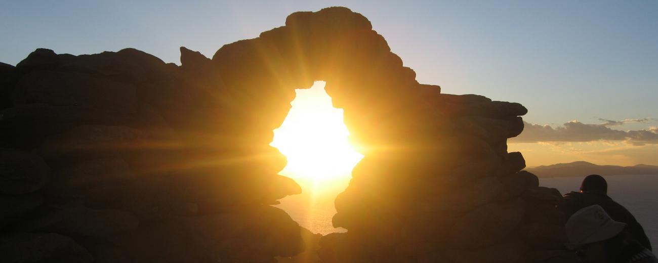 Sunset in Puno