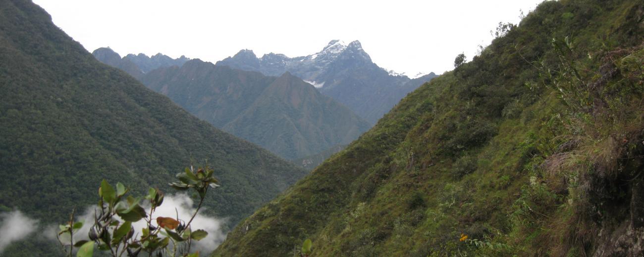 Inca Trail Mountains