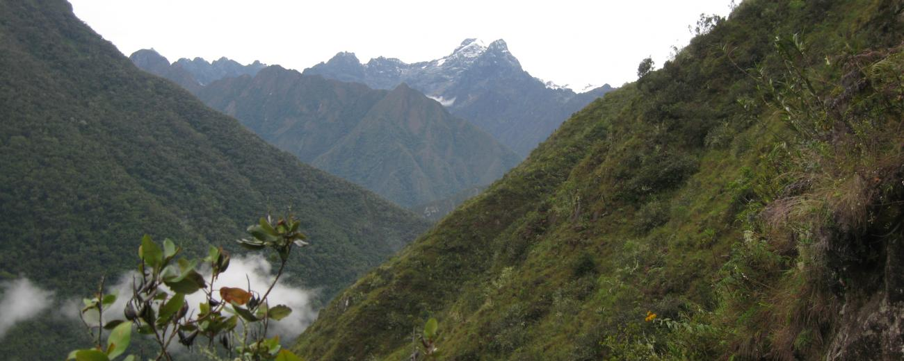 Inka Trail Mountains