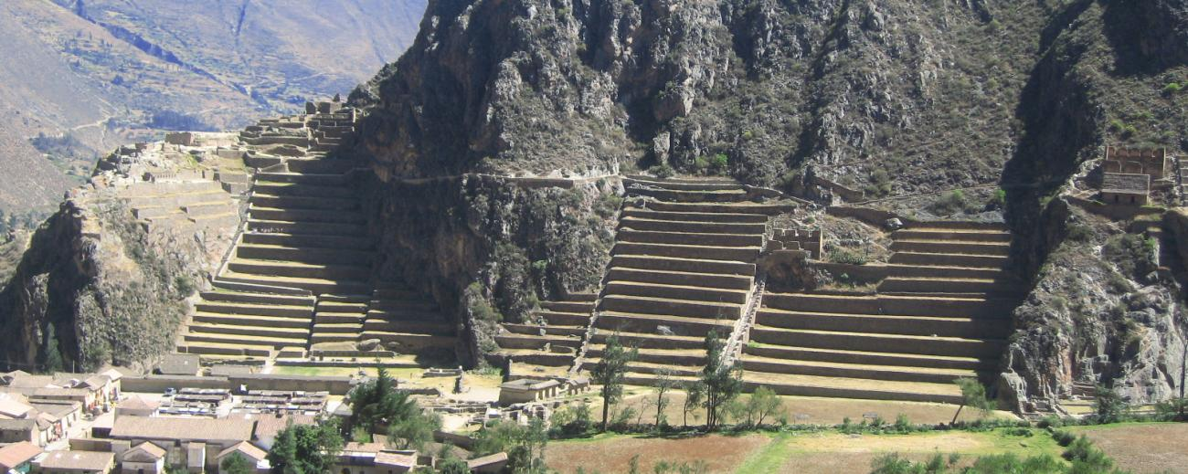 Ollantaytambo Archeological Site
