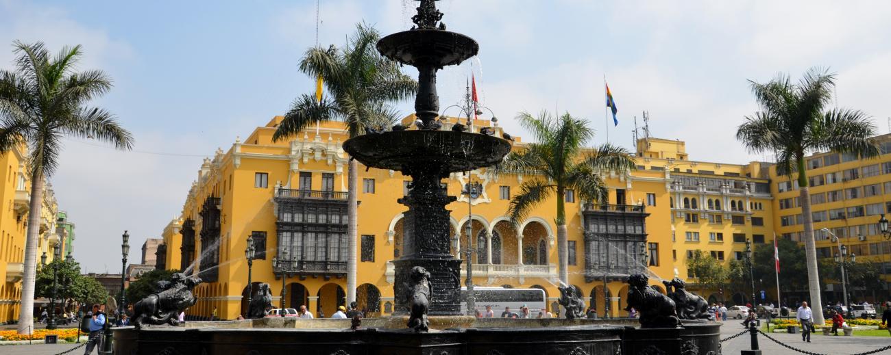Lima Main Square