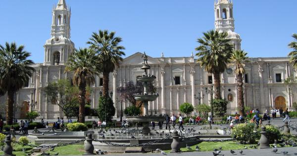 Arequipa Main Square