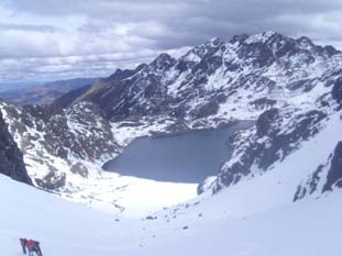 The Highest Pass at Lares Trek